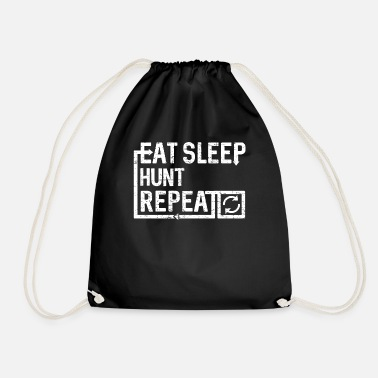 Eat Sleep Hunt - Drawstring Bag
