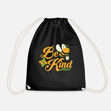 Down Bee Kind Autism Awareness Autism Superhero - Drawstring Bag