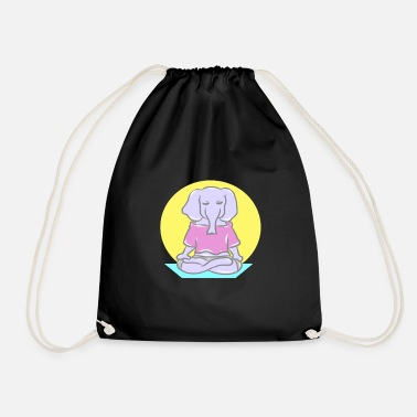 Bless You Sport fitness health competitive sport endurance - Drawstring Bag
