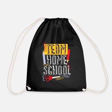 Bonjour Professeur de quarantaine Team Homeschool - Sac à dos cordon
