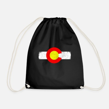 State Colorado state in the western United States - Drawstring Bag