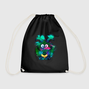 Chamois animal colorful - Drawstring Bag