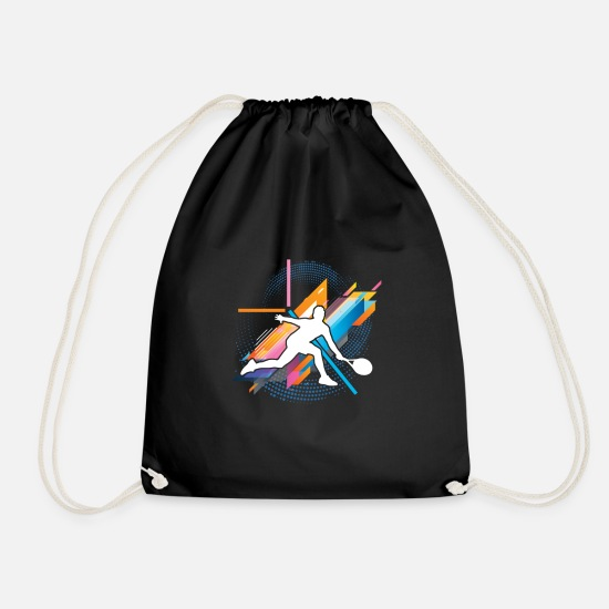 Squash Bags & Backpacks - Squash - Drawstring Bag black