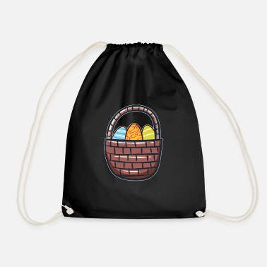 Basket Easter basket Easter basket - Drawstring Bag