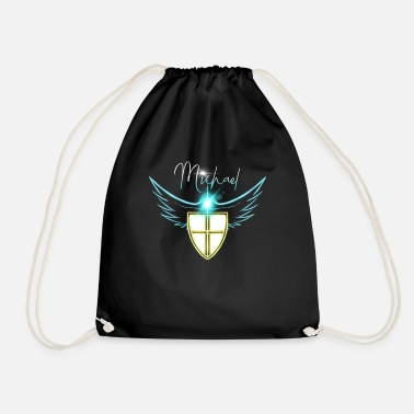 Michael 1996 archangel michael prayer - Drawstring Bag