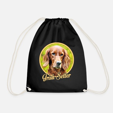 Irish Irish Setter - Drawstring Bag