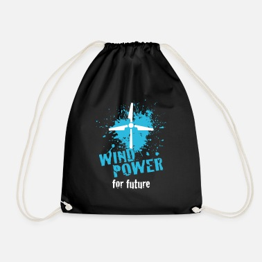 Wind Energy Wind energy - Drawstring Bag