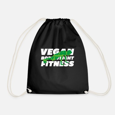 Bodybuilder Vegan Fitness Calisthenics - Gymnastiktaske