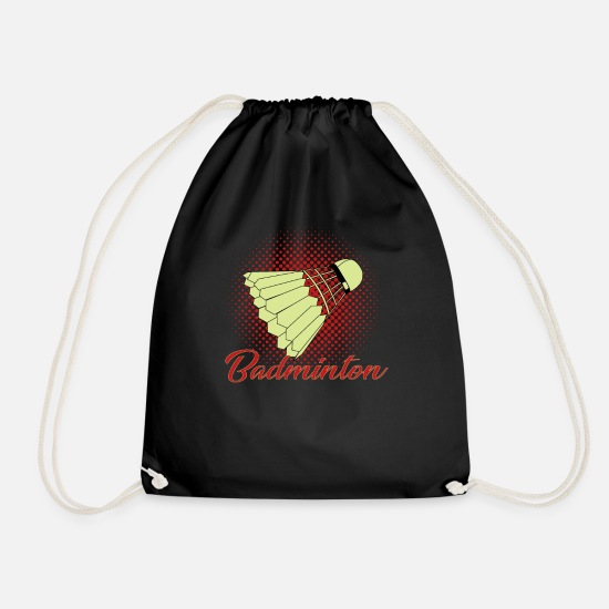 Gift Idea Bags & Backpacks - Badminton - Badminton - Drawstring Bag black
