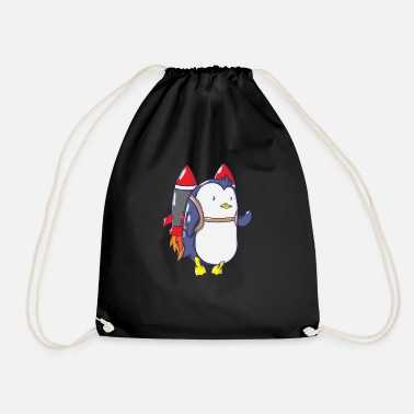 Missile Missile penguin - Drawstring Bag