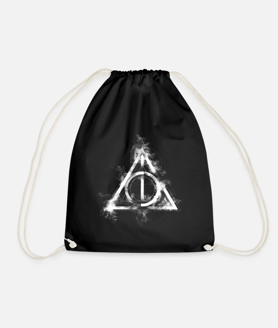 Official License Laukut ja reput - Harry Potter The Deathly Hallows Icon - Jumppakassi musta
