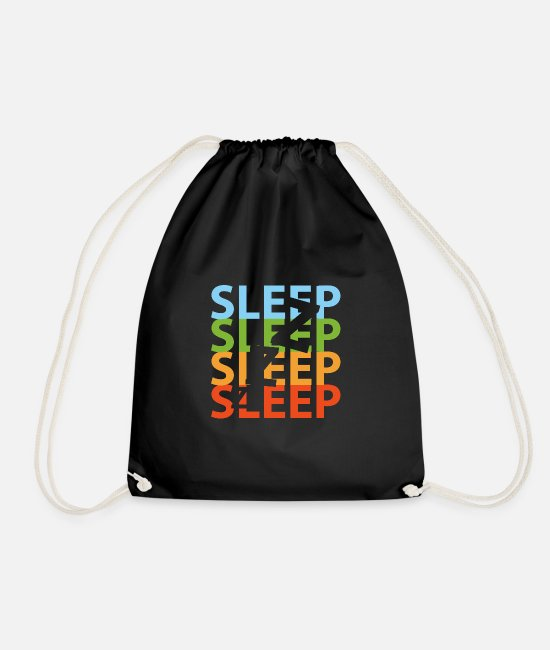 Spoons Bags & Backpacks - Sleep - Drawstring Bag black