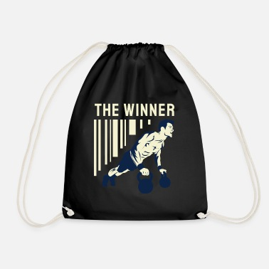 Boxing Training The Winner - Drawstring Bag
