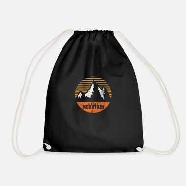 Mountains Rocky Mountain Rockies Travel Mountaineer Camping - Drawstring Bag