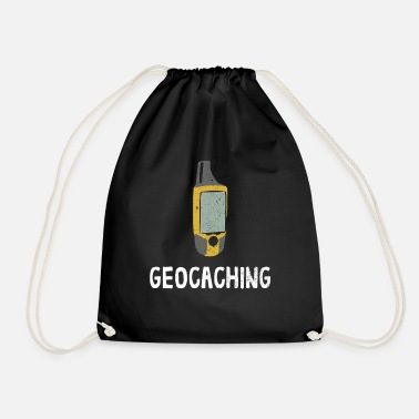 Schaats Geochcacher Geocaching Nature Hobby Fan Gift - Gymtas
