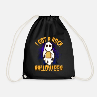 I have a rock Halloween 2 - Drawstring Bag