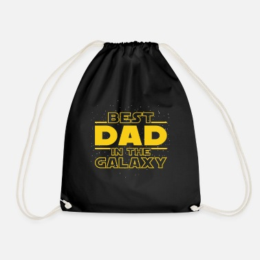 The Best Dad In The Galaxy - Mochila saco