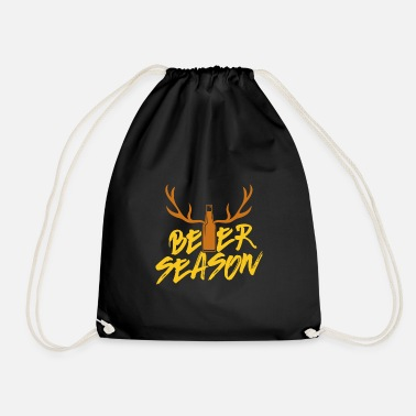 Beer Keg Beer Season Beer Bottle Beer Lover Hunting Gift - Drawstring Bag