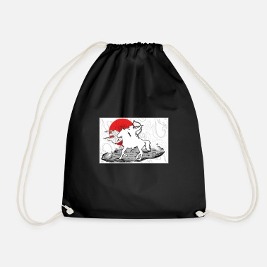 Archer Archer Riding Horse Japan Bowman Arrow Archer Gift - Drawstring Bag