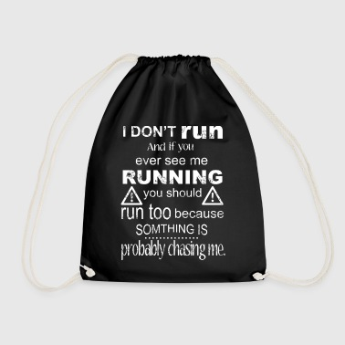Run T-shirt - Drawstring Bag