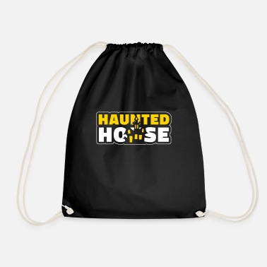 House Haunted House Haunted House Haunted House Halloween - Mochila saco