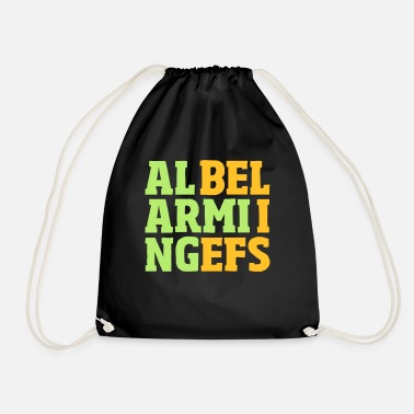 Belief alarming beliefs - Drawstring Bag