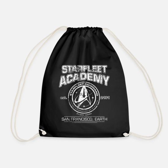 Discovery Bags & Backpacks - Star Trek Discovery Starfleet Academy - Drawstring Bag black