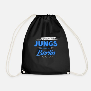From The Best The best guys are from Berlin - Drawstring Bag