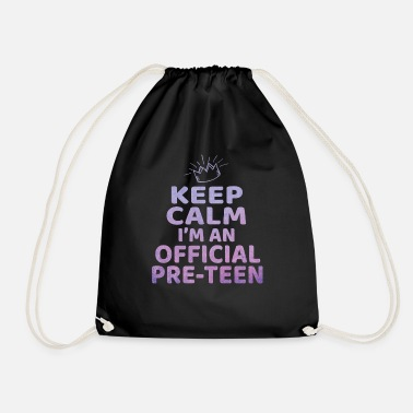 Teenager Keep Calm I'm a Official Preteen 12th Birthday - Gymnastiktaske