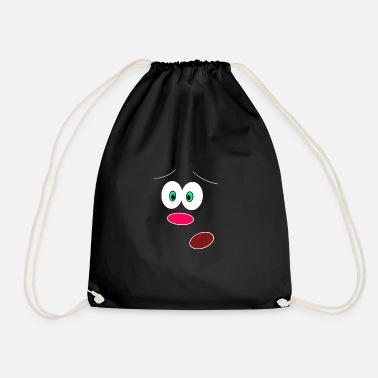 Facial Expressions Face Emotion Feelings Expressions Facial expression - Drawstring Bag
