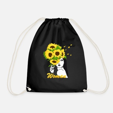 Flower Power blooming Vrouw - Gymtas