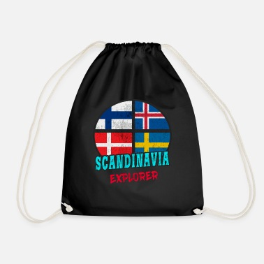 Scandinavie Scandinavie Explorer / Scandinavie / Cadeau - Sac de sport léger
