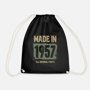 1957 Made In 1957 - Drawstring Bag