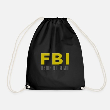 FBI Fashion bad individu - Sac à dos cordon