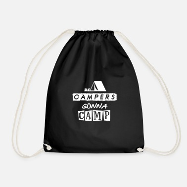 To Camp camping - camping - camping - Drawstring Bag