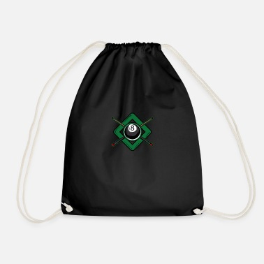 Cue Billiard cue - Drawstring Bag