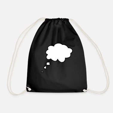 Thought Bubble thought bubble - Drawstring Bag