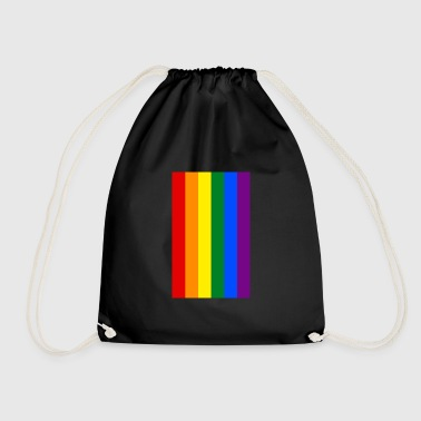 LGBT Flag - Drawstring Bag