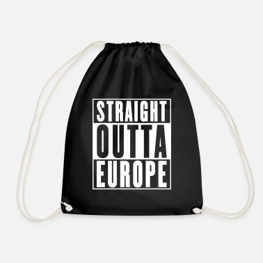 Europe Straight Outta Europe - Drawstring Bag