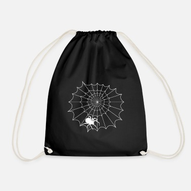 Net Net with spider - Drawstring Bag