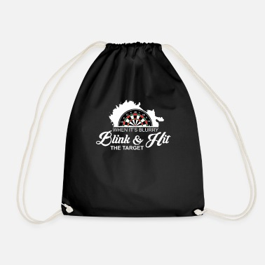 Darts Dart Darts Darts Darts Darts Player Gift - Drawstring Bag