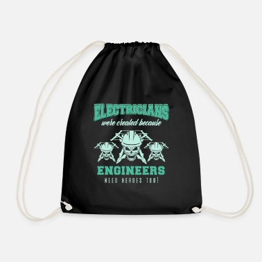 Electricity Electrician Electricity Electricity Electricity Gift - Drawstring Bag