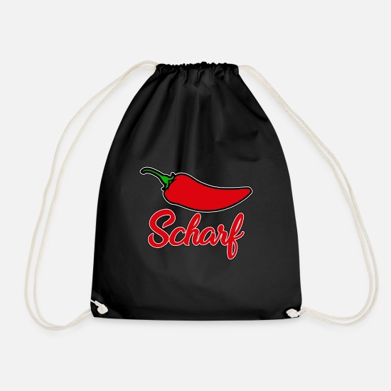 Curry Bags & Backpacks - Sharp - Drawstring Bag black