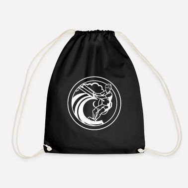 Kite Surfers Kite surfers - Drawstring Bag