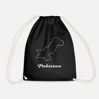 Carte Pakistan carte carte - Sac à dos cordon