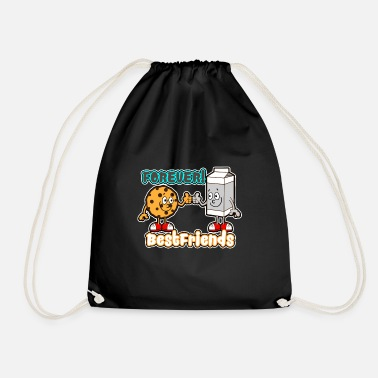 Cookie and Milk - Forever best friends - Drawstring Bag