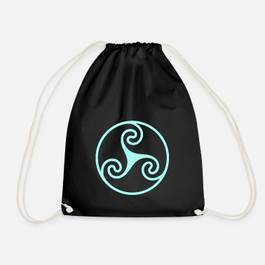 Wheel wheel - Drawstring Bag