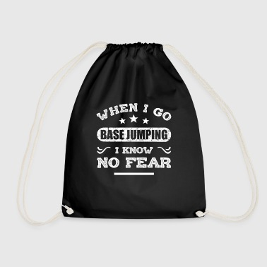 Base Jumping - Drawstring Bag