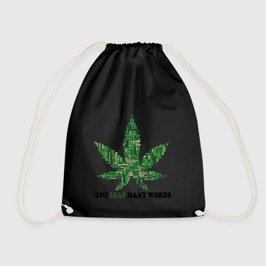 Smoke weed everyday - Drawstring Bag