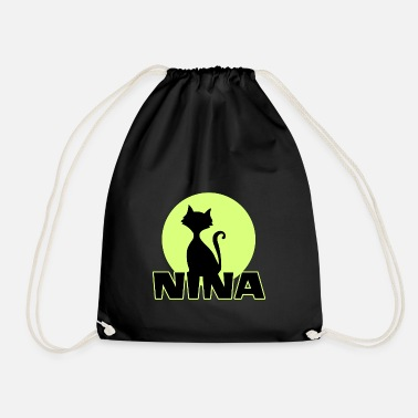 First Name Nina Name First name - Drawstring Bag